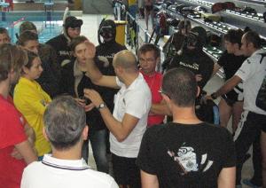 Novembre 2013: il Tiro al Bersaglio Subacqueo Internazionale in formula Club
