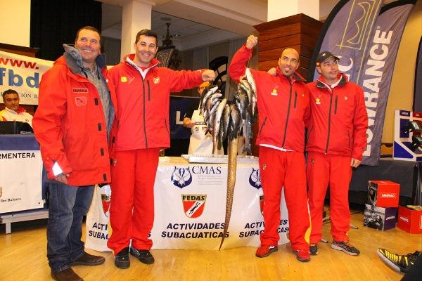 La prima edizione della Coppa del Mondo CMAS è andata alla Spagna (foto V. Prokic)