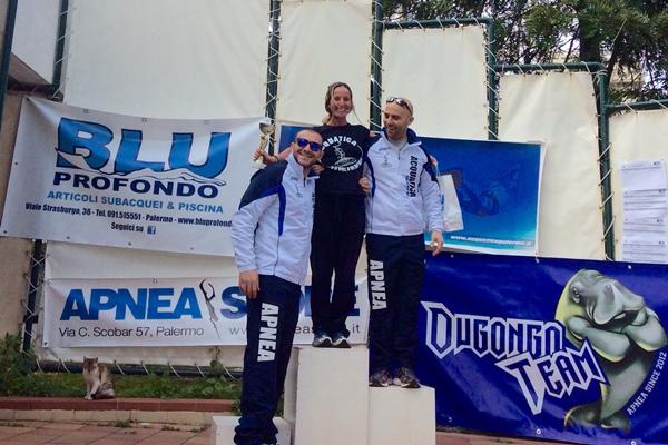 Laura Mattei chiude con il personale in gara a 125 metri (foto L. Ebreo)