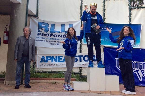 Egidio Lispi, vince l'Elite senza attrezzi (foto L. Ebreo)