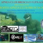 Il 25 maggio il Trofeo Apnea Club Brescia 2014