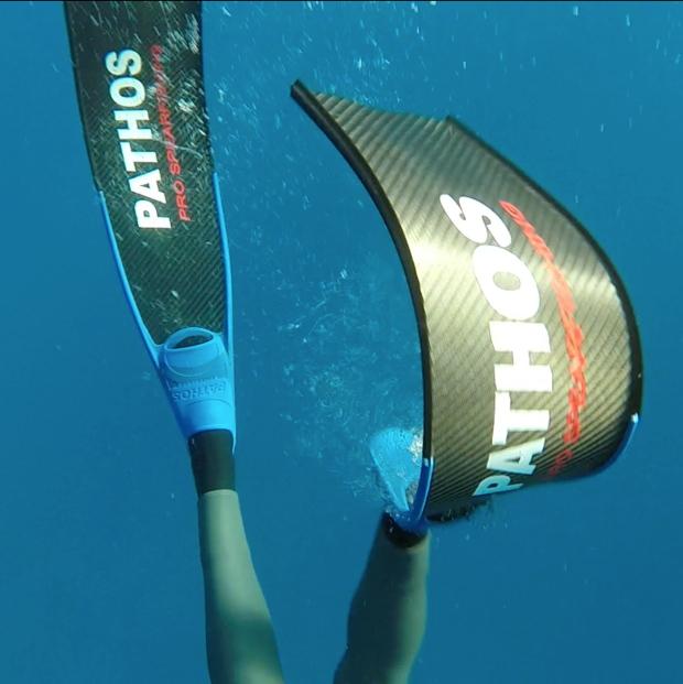 Una pala molto reattiva, adatta sia alla pesca profonda che agli spostamenti in superficie
