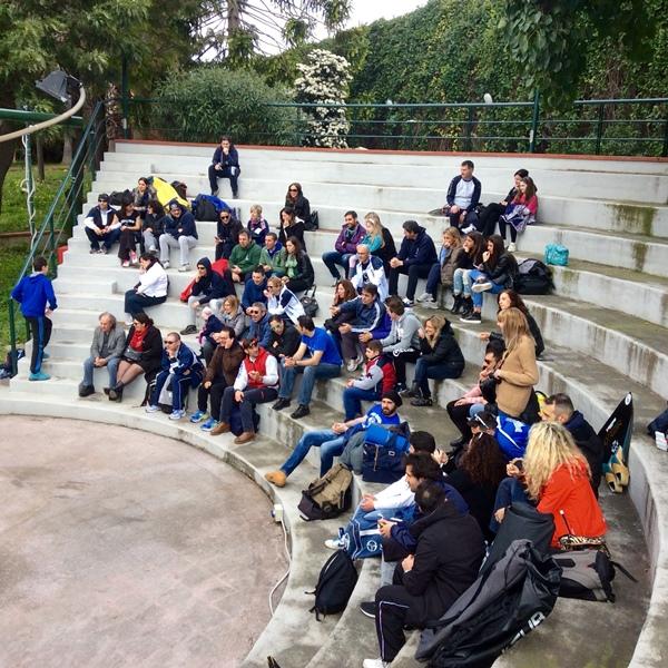 Una parte del pubblico che ha assistito alla manifestazione (foto L. Ebreo)