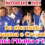 Mondiale 2014: prima frazione a Spagna e Croazia ma l'Italia c'è!