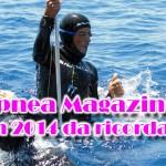 Apnea Magazine: un 2014 da ricordare