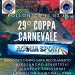 Gare Pesca Sub: il 17 Febbraio la 29a Coppa Carnevale