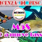 Licenza di pesca: interrogazione M5S contro la nuova tassa