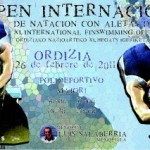 Nuoto Pinnato: risultati Open Internacional de Ordizia