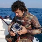 La videoripresa in apnea: Fabrizio D'Agnano