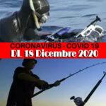 DL Covid Natale: Regole  Pesca Sportiva dal 24 Dicembre al 6 Gennaio