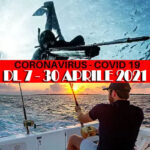 Dpcm Covid-19: Regole Pesca Sportiva dal 7 al 30 Aprile