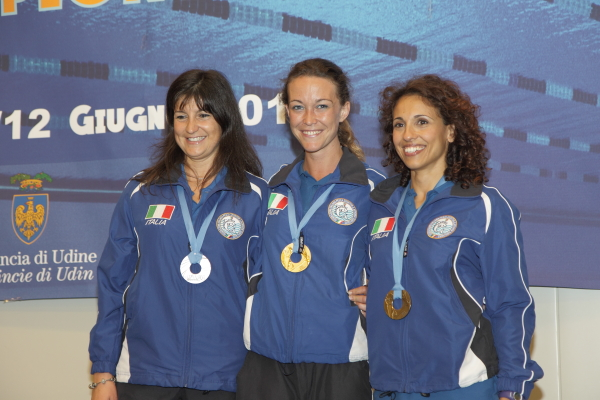 Da sinistra: Rodda, Zecchini e Di Giulio (foto S. Rubera)