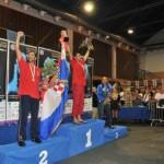 Mondiale di Lussino: oro Gospic, argento Buratovic, bronzo De Silvestri. Argento a squadre per l'Italia