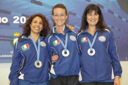 De Giulio, Zecchini e Rodda (foto S. Rubera)