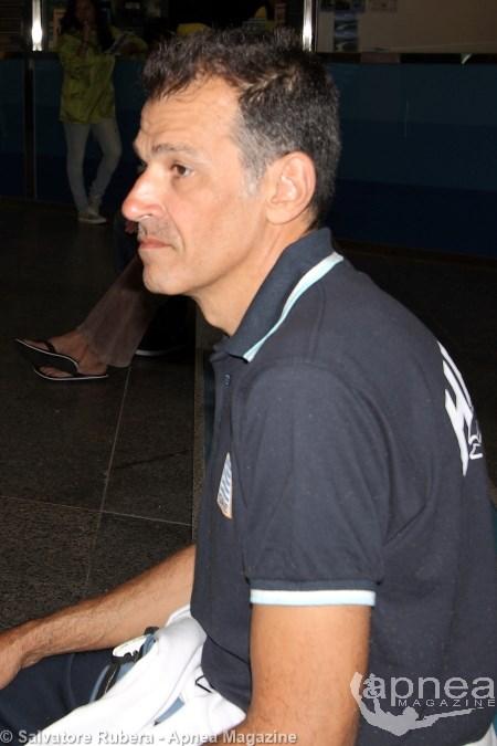 Nikos Kambanis, Commissario tecnico della nazionale greca (foto S. Rubera)