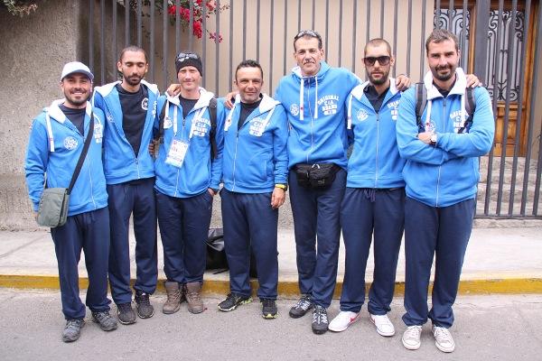 Un'altra immagine della Grecia al completo con Kambanis, terzo da destra (foto V. Prokic)