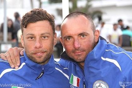 Concetto Felice (a sinistra) e Giacomo Brunettini che gli ha fatto da assistente fino all'arrivo di Natoli (foto V. Prokic)