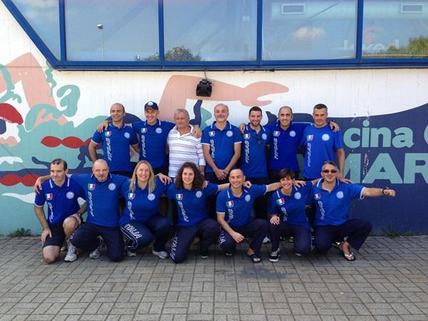 Il druppo di atleti che ha partecipato allo stage di selezione per il Campionato Europeo (foto C. Fausti)