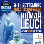 Homar Leuci: tentativi di record mondiali di apnea profonda