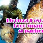 Licenza pesca: ecco quanto si pagherà