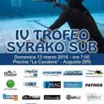 IV Trofeo Syrako Sub: ad Augusta la festa del tiro al bersaglio subacqueo