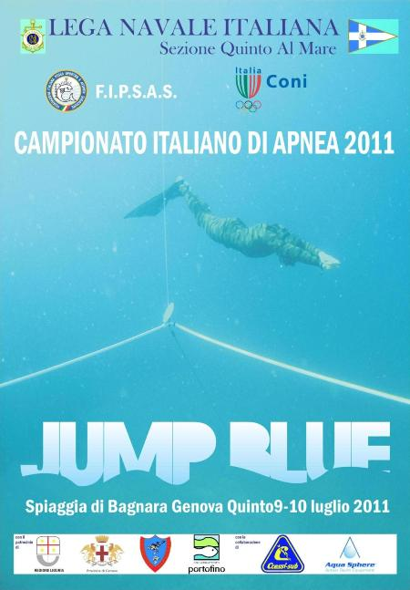Campionato jump blue a genova apnea magazine for Piscina quinto genova