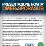 Presentazione prodotti Omer/Sporasub a Trapani