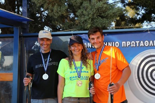Della seconda staffetta faranno parte Dounavis, Topouzoglou e Xanthakis (foto Kaziales)