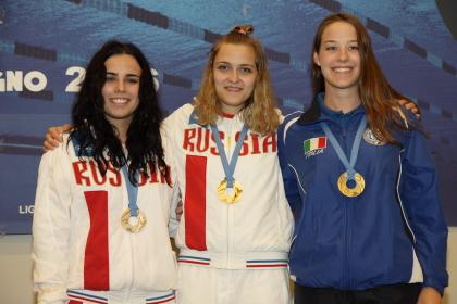 Nei 100 Speed femminili bronzo per Eric Barbon (foto S. Rubera)