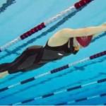 Oro e record del mondo per Ilaria Bonin nella dinamica senza pinne (rana subacquea)