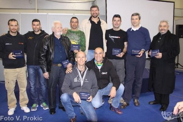 I personaggi premiati  (foto V. Prokic)