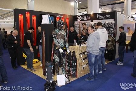 GFT, Polosub e Sigalsub erano presenti alla DeepEx con un unico stand (foto V. Prokic)