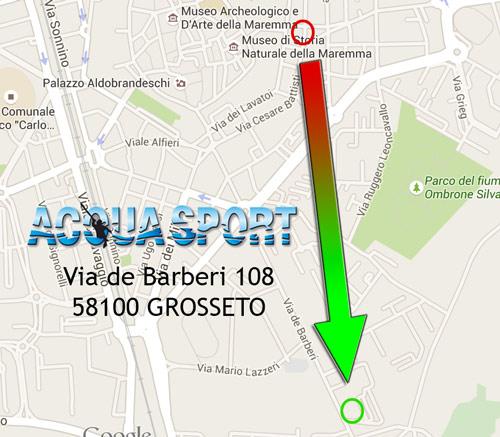 Nuova sede Acquasport - Grosseto