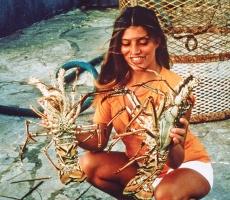 Angela Bandini nell'arcipelago di Turks e Kaikos