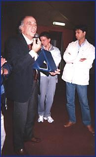 Il Presidente del Settore Attività Subacquee della FIPSAS Alberto Azzal