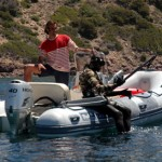 Divieto pesca sub con le bombole e obbligo di barcaiolo