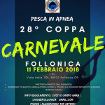 L'11 Febbraio, A Follonica, la 28a Coppa Carnevale