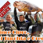 Spearfishing Champions League: vince Cipro, poi Turchia e Grecia