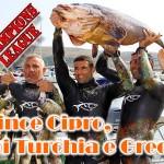 Spearfishing Champions League: vince Cipro, poi Turchia e Grecia