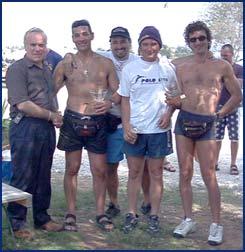 La squadra vincitrice - Circolo Sub Grossetano