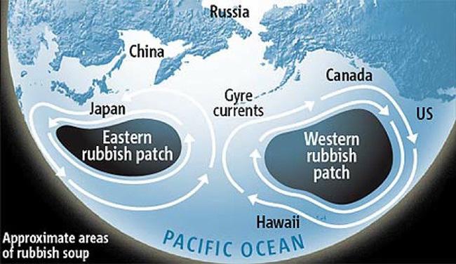 continenti di plastica