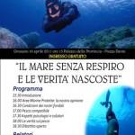 A Grosseto il 16 aprile importante convegno sul mare e la pesca in apnea