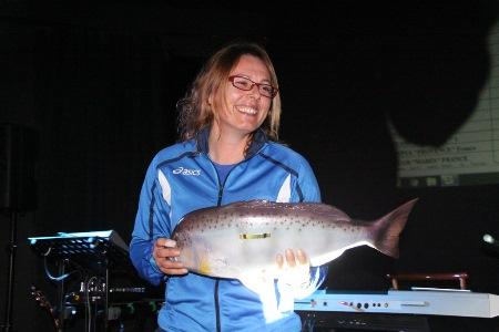 Un premio è andato anche all'unica donna partecipante (foto V. Prokic)