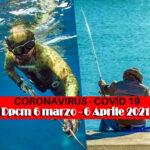 Dpcm Covid-19: Regole Pesca Sportiva dal 6 Marzo al 6 Aprile