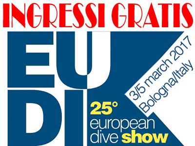 Rispondi ed Entra GRATIS all'Eudi Show 2017 con Apnea Magazine