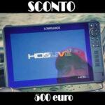 Ecoscandaglio Lowrance: fino a 500 euro di Sconto su HDS Live, fino al 31 Ottobre