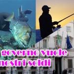 La licenza di pesca a pagamento s'ha da fare!