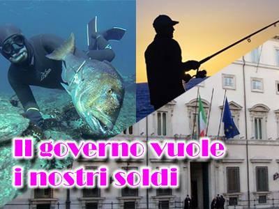 Il PD ci Riprova con la Licenza di Pesca in Mare a Pagamento!