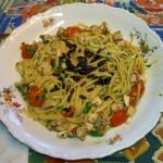 Le ricette dei Campioni: linguine al sarago
