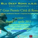 Tiro al bersaglio subacqueo: 2° Gran Premio Città di Roma